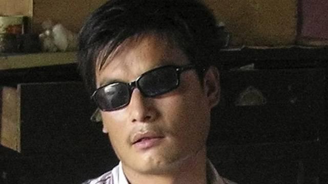 Archivaufnahme des blinden chinesischen Menschenrechlters Chen Guangcheng