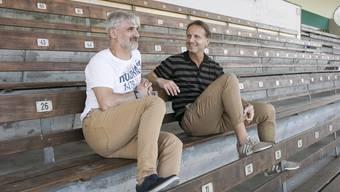 Die neuen Trainer des FC Wettingen: Salvatore Romano und Marc Hodel