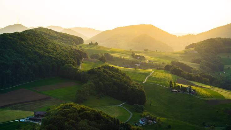 Fast wie in der Toskana! Diesen schönen Schnappschuss mit Blick von der Gisliflue hat uns Leser Christian Gehrig 2015 zur Verfügung gestellt.