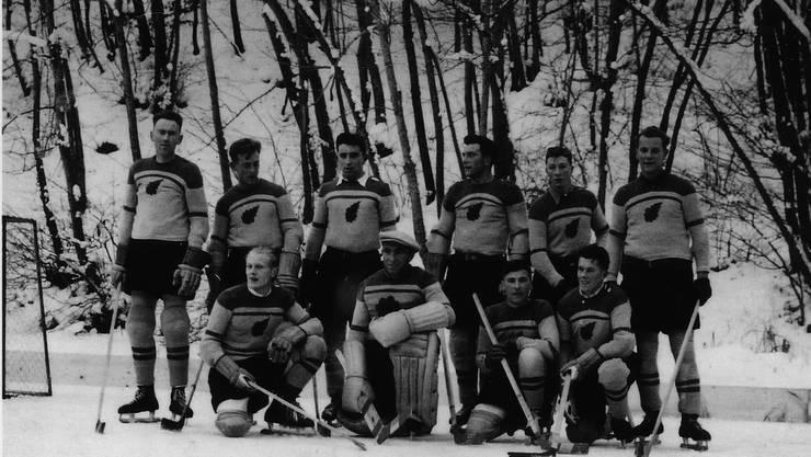 Der EHC Bergdietikon wurde 1950 gegründet und trug seine Spiele auf dem zugefrorenen Egelsee aus.