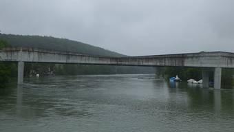 Auf der Aare verkehrten im Sommer 2014 wegen des Hochwassers an 27 Tagen keine Kursschiffe. (Archiv)