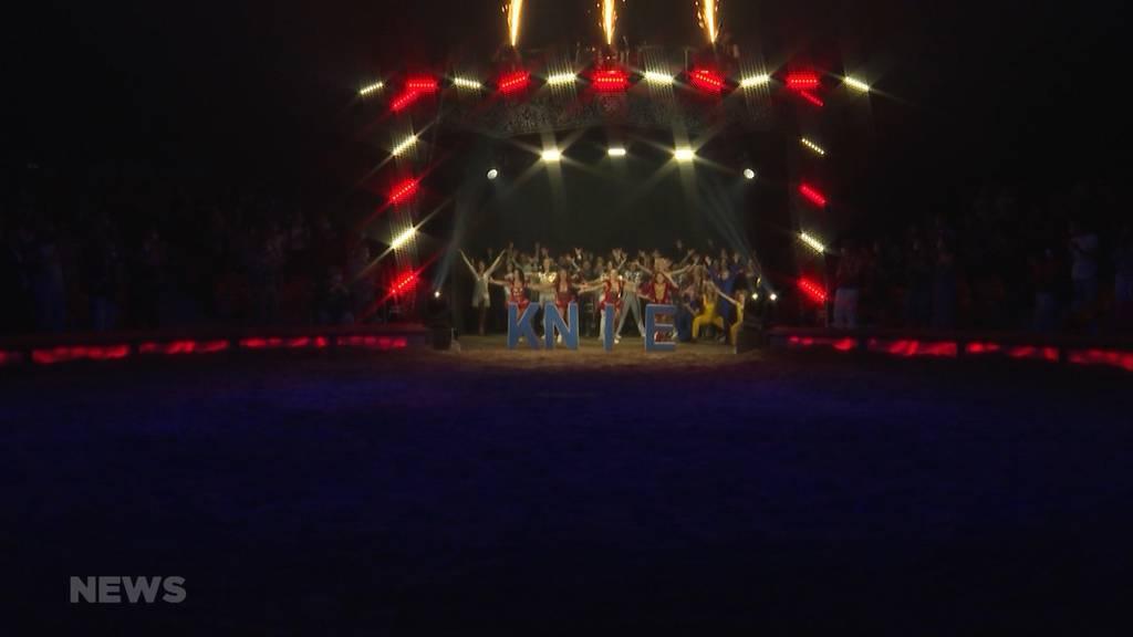 Nach fast einem halben Jahr: Zirkus Knie Premiere in Bern