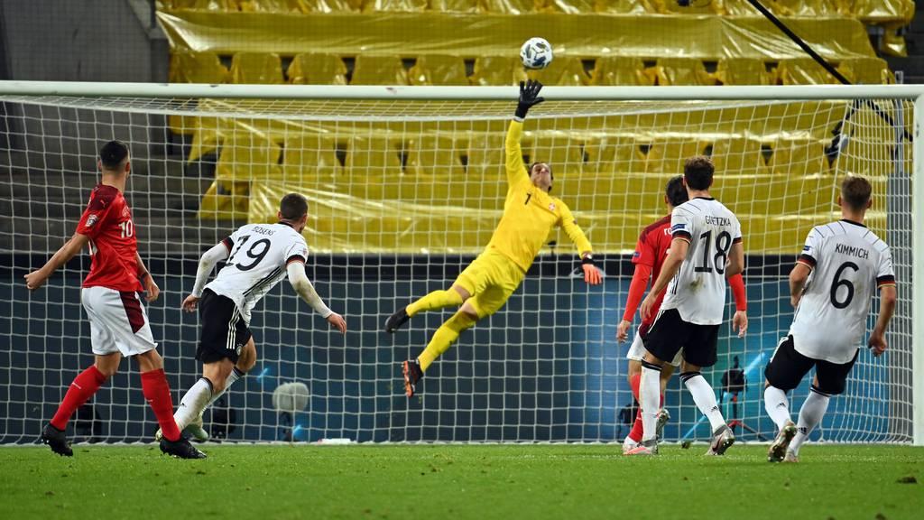 Schweiz mit einem ärgerlichen 3:3 gegen Deutschland