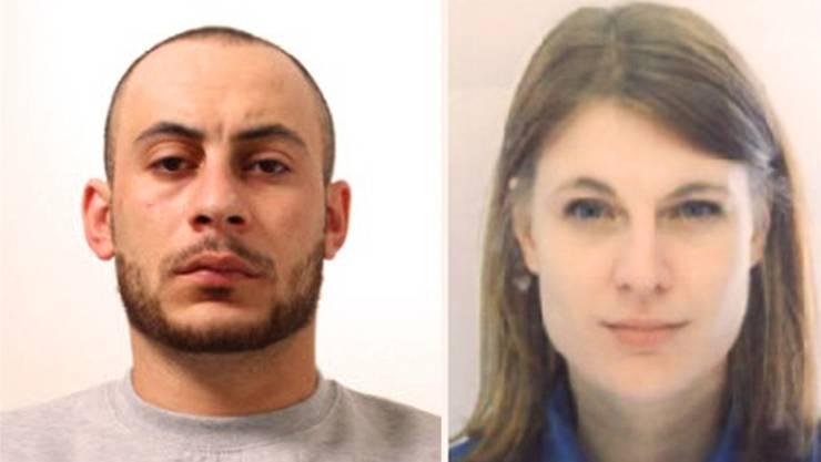 Hassan Kiko und Angela Magdici: Die Fahndungsbilder der Kantonspolizei  Zürich
