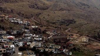 Dorf auf den Golan-Höhen nahe der israelisch-syrischen Grenze (Symbolbild)