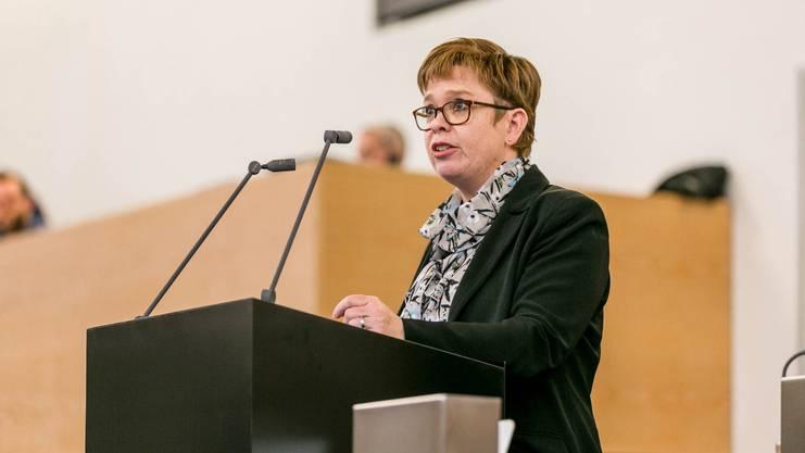 Ruth Müri gehört dem Grossen Rat an.