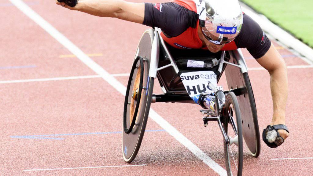 Marcel Hug war im WM-Rennen über 1500 m nicht zu bezwingen