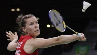 Sabrina Jaquet befindet sich am Swiss Open in Basel in der Form ihres Lebens.