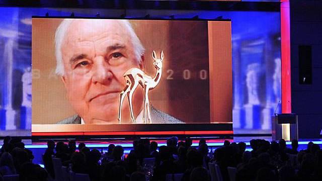 Grosse Ehre für Ex-Bundeskanzler Kohl an der Bambi-Verleihung