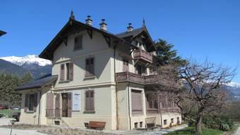 Die Villa Ruffieux in Sierre