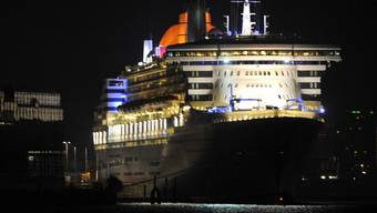 """Auf der """"Queen Mary 2"""" ist ein Virus ausgebrochen (Archiv)"""