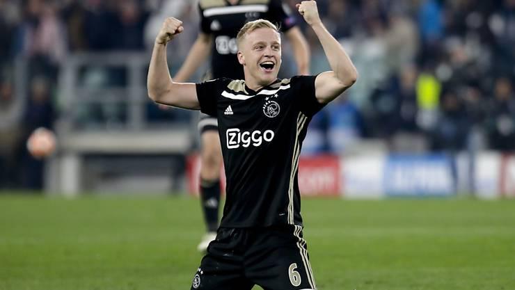 Ajax Amsterdam mit Donny van de Beek verzückt derzeit Fussball-Europa