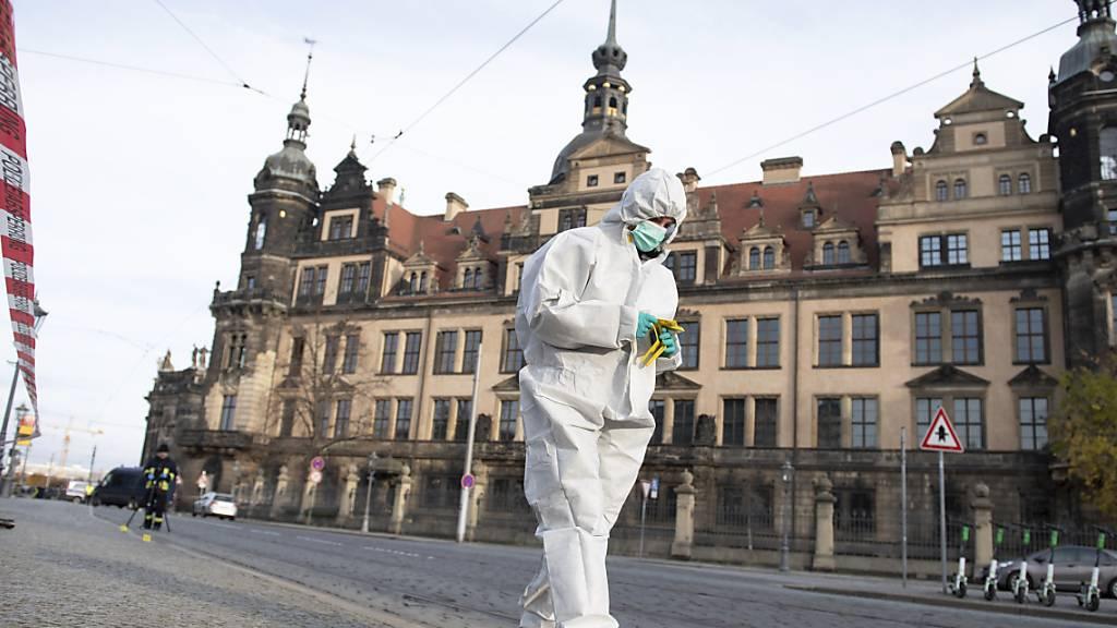 Einbruch in Dresdens Schatzkammer «Grünes Gewölbe»