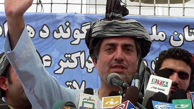 Kandidat Dr. Abdullah Abdullah (Archiv)