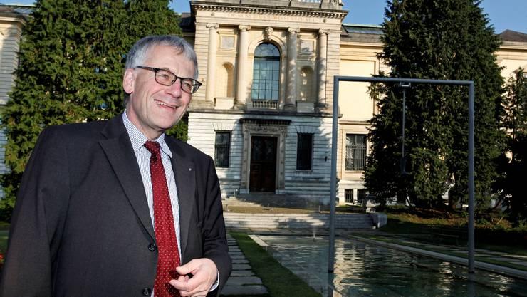 Kurt Fluri (56) gefällt der Grüngürtel im Norden der Stadt Solothurn, wo auch das Kunstmuseum steht.