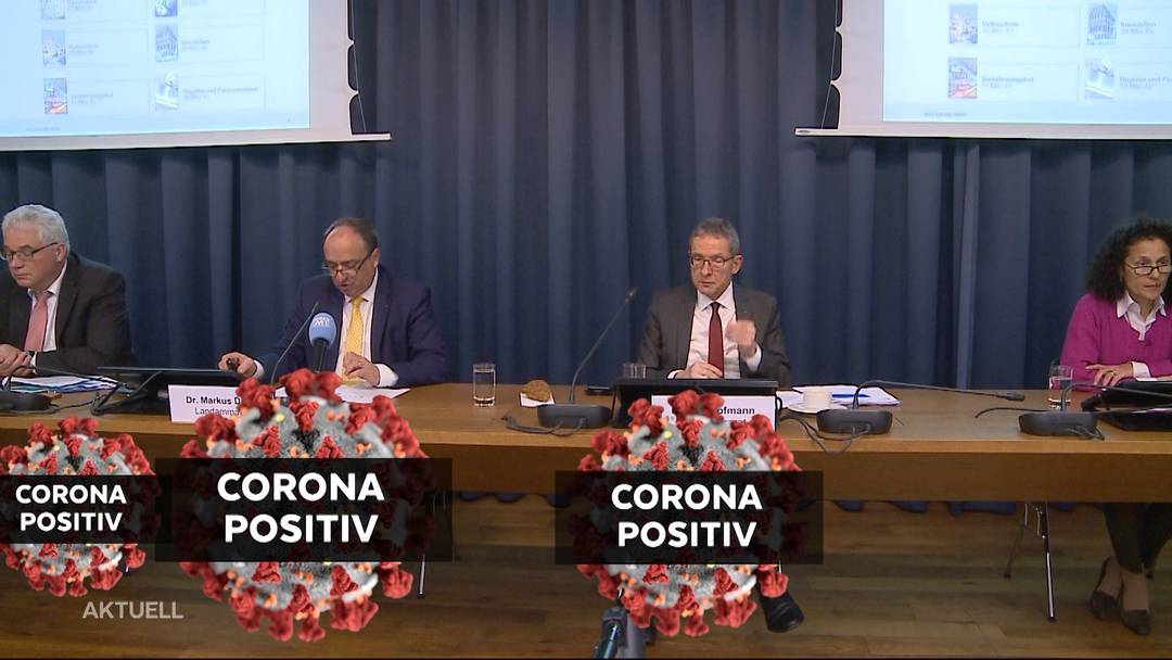 Weitere Aargauer Regierungsmitglieder mit Coronavirus infiziert
