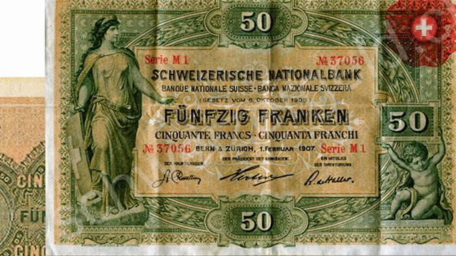 Im Wandel der Zeit: Die 50er-Note von 1907 bis 2016