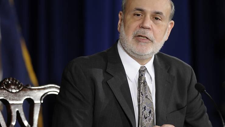 Der frühere Notenbanker Ben Bernanke berät Fondsgesellschaft (Archivbild).