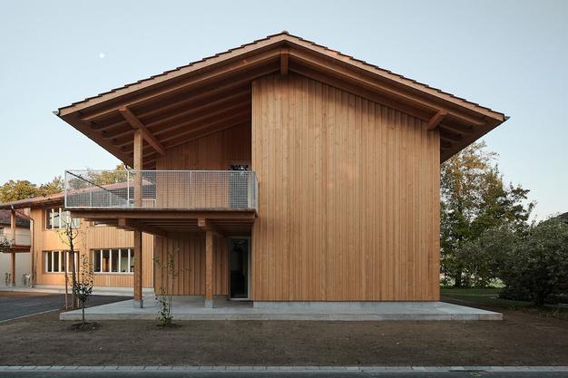 Ein von «luna productions» entwickeltes Mehrfamilienhaus in Deitingen