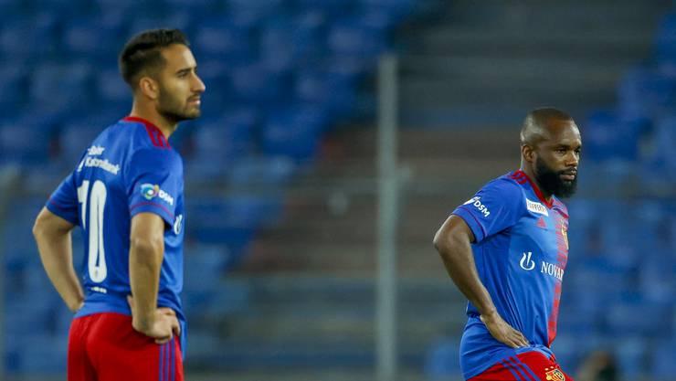Werden bald kaum mehr Rotblau tragen: Samuele Campo (links) und Aldo Kalulu.