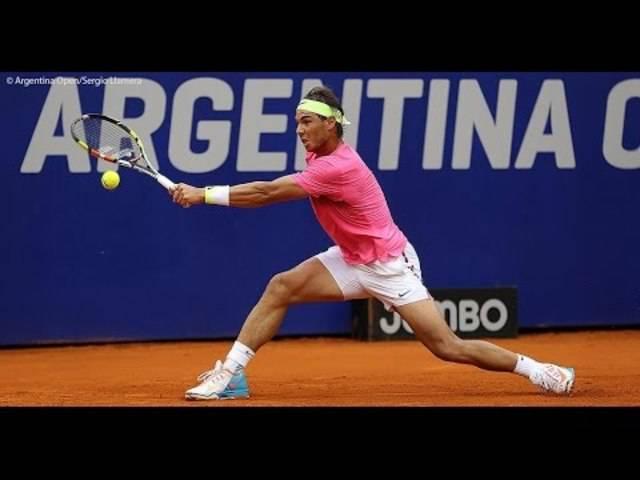 Rafael Nadal vs. Juan Monaco – die Highlights.