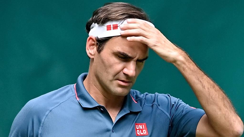 Roger Federer erlebte einen enttäuschenden Match gegen den 19 Jahre jüngeren Kanadier Auger-Aliassime.