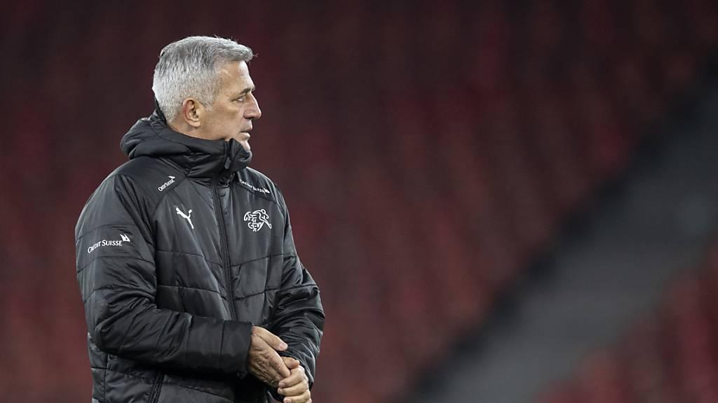 """Nationaltrainer Vladimir Petkovic muss """"Lösungen aus der zweiten Reihe"""" finden"""