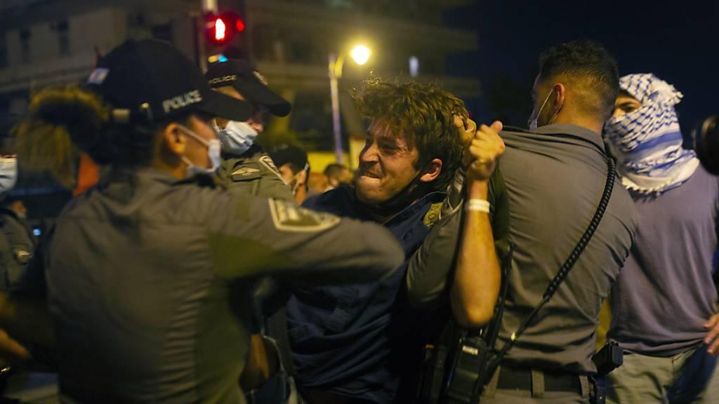 Polizeieinsatz gegen Demonstranten in Jerusalem – 30 Festnahmen