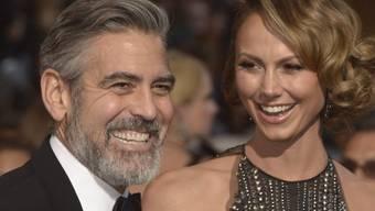 George Clooney und Stacy Keibler (Archiv)