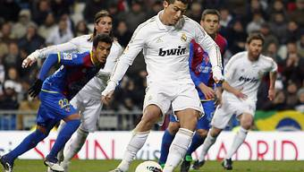 Cristiano Ronaldo dreifacher Torschütze gegen Levante.