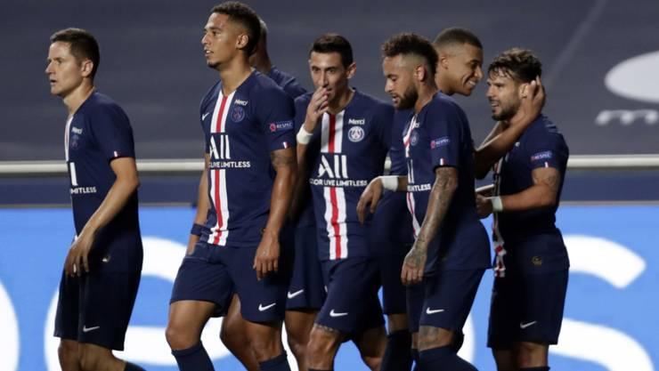 Die Spieler von Paris Saint-Germain mussten ihre Tore in dem einseitigen Match nicht überschwänglich feiern