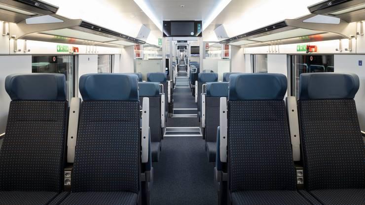 Während des Lockdowns waren die Züge leer.