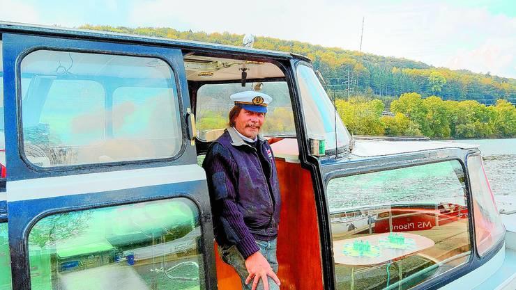 Kapitän der Öufi-Boot-Flotte: Fred Fankhauser hat mit seinem Angebot wies scheint eine echte Marktlücke erschlossen. (nst)