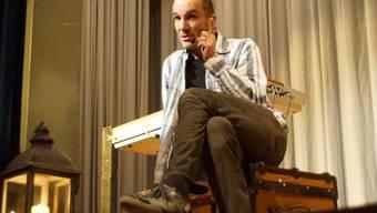 Andrew Bond, hier bei einem früheren Auftritt in Birmensdorf, präsentiert bald sein neustes Kindermusical.