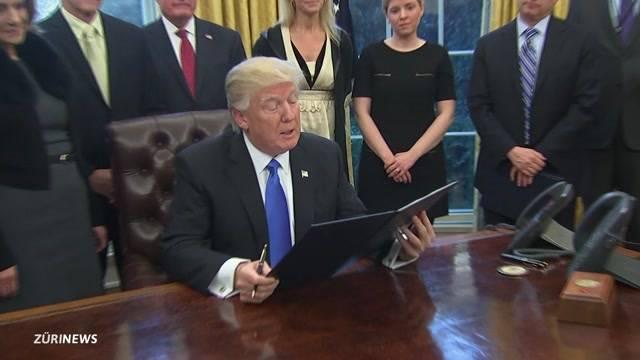 Trump kämpft mit Niederlage