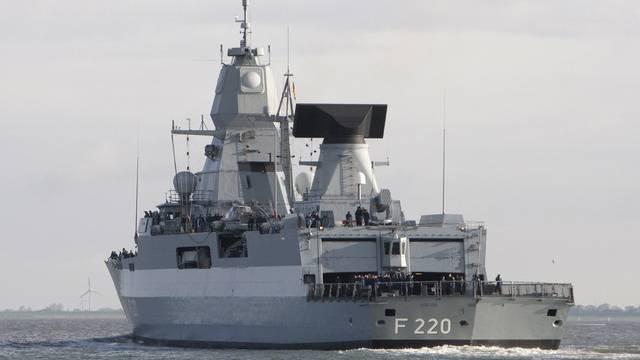 Ein Schiff der deutschen Marine unterwegs in Nordafrika (Symbolbild)