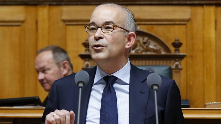 Der Zürcher SVP-Nationalrat Gregor Rutz folg ad-interim auf die zurücktretende Zürcher Regierungsrätin Natalie Rickli.