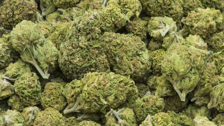 Die Grenzwächter stellten zwei Kilogramm Marihuana fest. (Symbolbild)