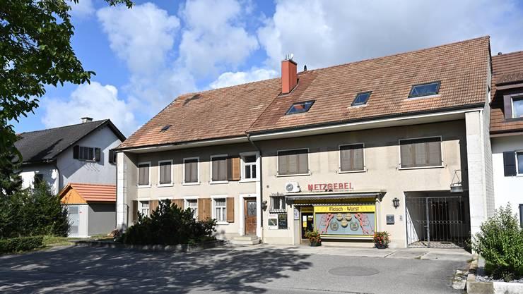 Dorfstrasse 35, Metzgerei Wyss, Neuendorf Das Gebäude soll demnächst versteigert werden.