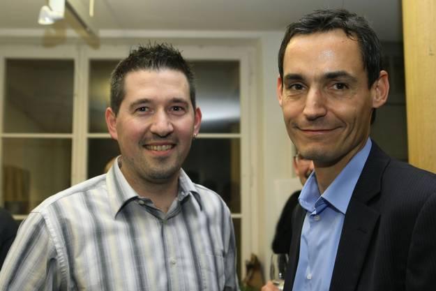 Mike Barth aus Staufen und Gérald Strub aus Boniswil