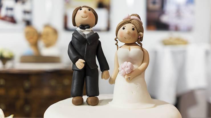 2019 gaben sich weniger Paare das Ja-Wort als in früheren Jahren. (Symbolbild)