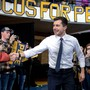 Pete Buttigieg (38) . Iowa: 16,7 Prozent. National: 6,7 Prozent.