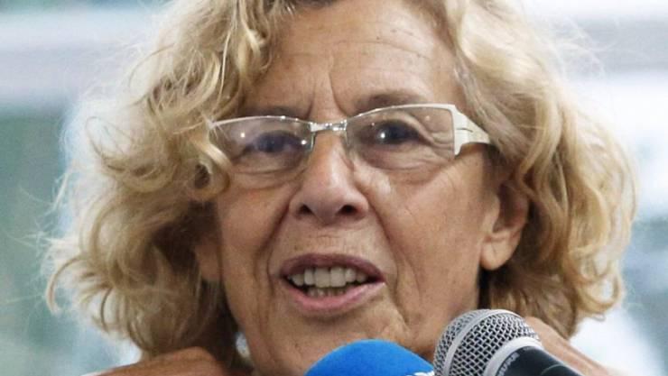 Madrids neue Stadtpräsidentin, Manuela Carmena