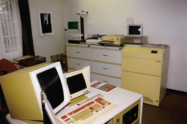 Nicht nur an den Druckmaschinen hat sich im Laufe der Zeit einiges geändert