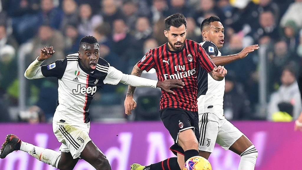 Juventus Turin weiter vor Inter