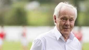 Der 76-jährige Köbi Kuhn leidet unter Lungenproblemen.