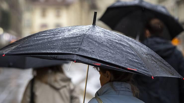 Im Oktober hat es in Solothurn oft geregnet (Archivbild)