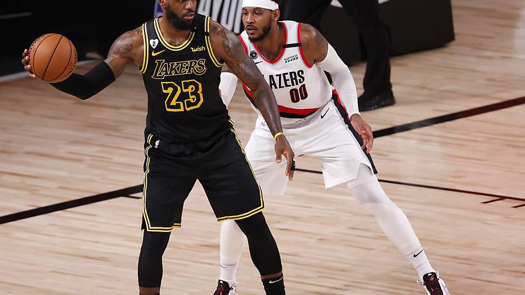LeBron James war gegen Portland nicht zu stoppen