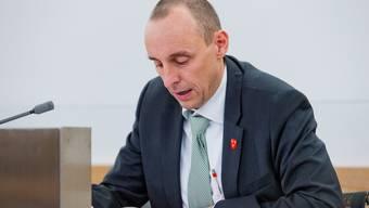 Die SVP kritisiert das Budget 2017. Im Bild: SVP-Grossrat und Parteisekretär Pascal Furer