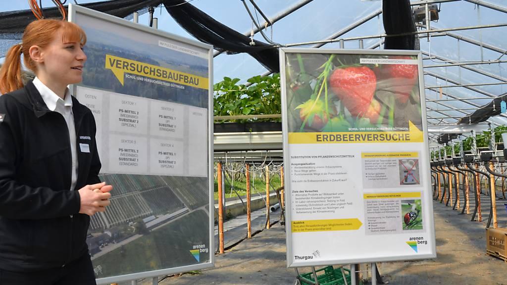 Thurgau will Belastung durch Pflanzenschutzmittel reduzieren